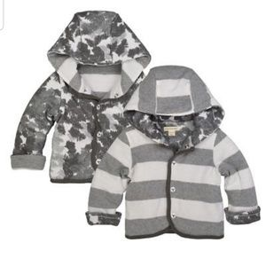 Burt's Bee's Baby reversible jacket